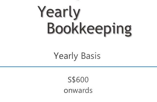 Yearly Bookkeeping